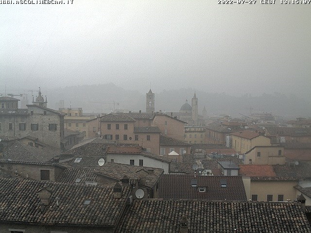 WebCam vista nord